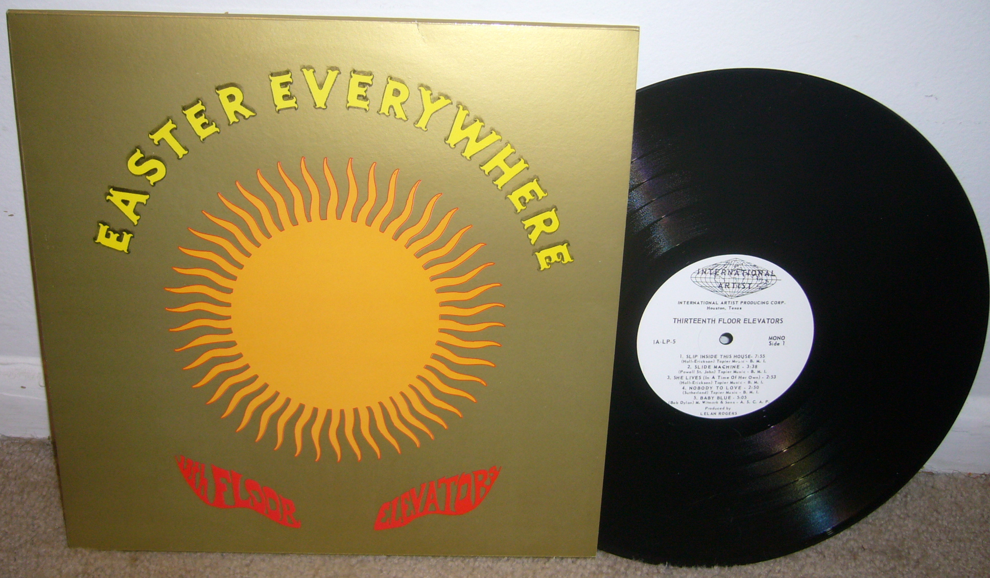 13th floor elevators and roky erickson tracking force for 13th floor elevators electric jug